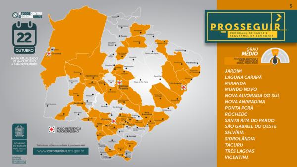 Left or right mapa prosseguir 43 nova andradina